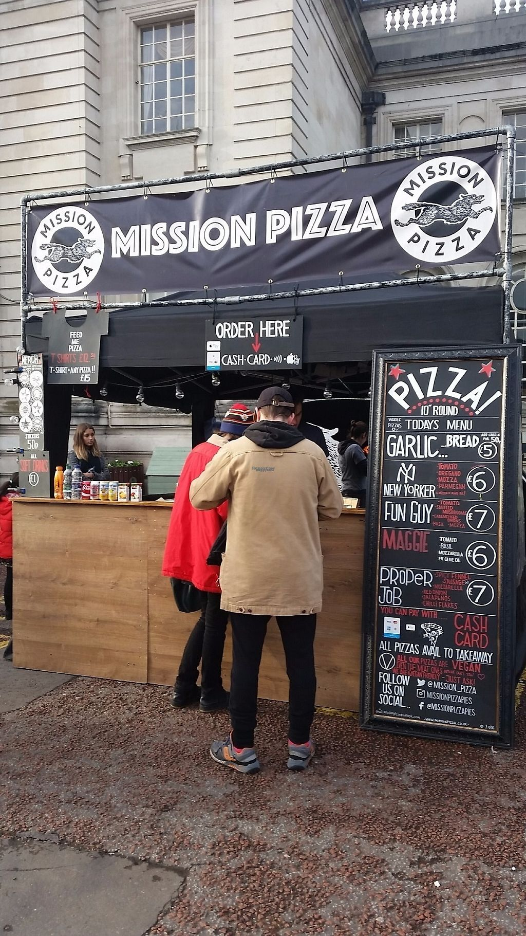 "Photo of Mission Pizza  by <a href=""/members/profile/konlish"">konlish</a> <br/>Stall at  Cardiff Viva! Vegan Festival  <br/> February 18, 2017  - <a href='/contact/abuse/image/86659/227963'>Report</a>"