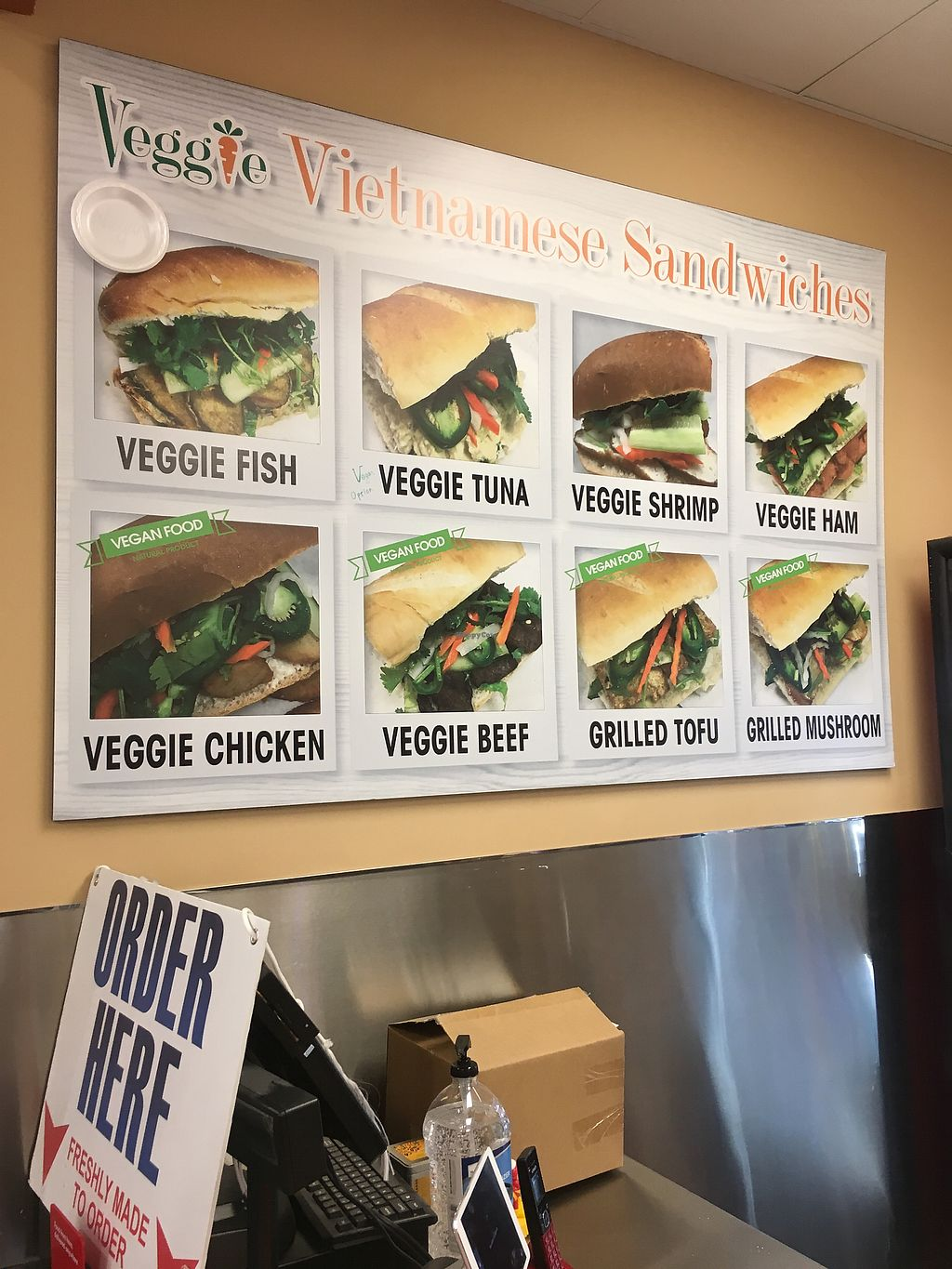 "Photo of VeggiEAT Xpress  by <a href=""/members/profile/Melynavarro"">Melynavarro</a> <br/>Sandwich menu  <br/> December 19, 2017  - <a href='/contact/abuse/image/86667/337342'>Report</a>"