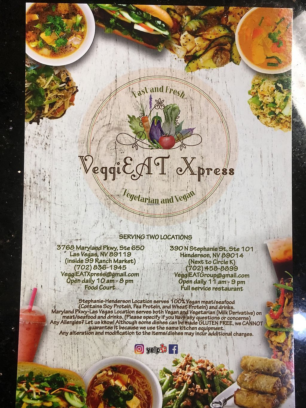 "Photo of VeggiEAT Xpress  by <a href=""/members/profile/Melynavarro"">Melynavarro</a> <br/>Menu <br/> December 19, 2017  - <a href='/contact/abuse/image/86667/337344'>Report</a>"