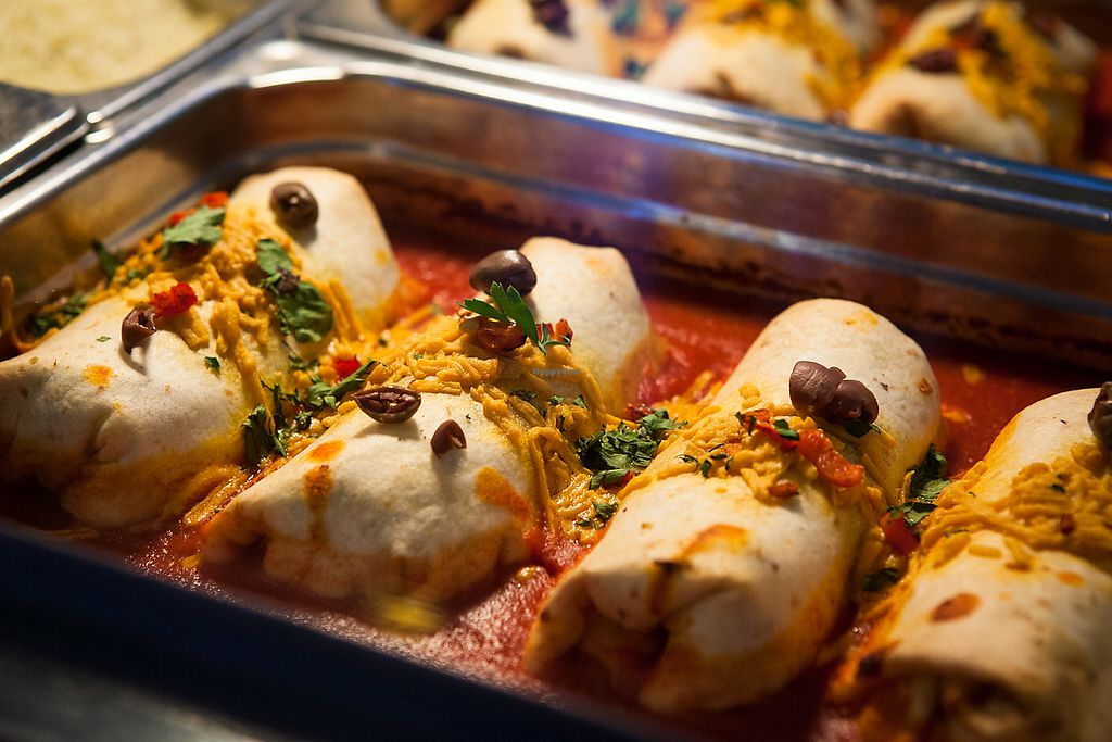 """Photo of Vege Rama - Westfield Carindale   by <a href=""""/members/profile/PameSR"""">PameSR</a> <br/>Enchiladas <br/> December 19, 2017  - <a href='/contact/abuse/image/86677/337203'>Report</a>"""