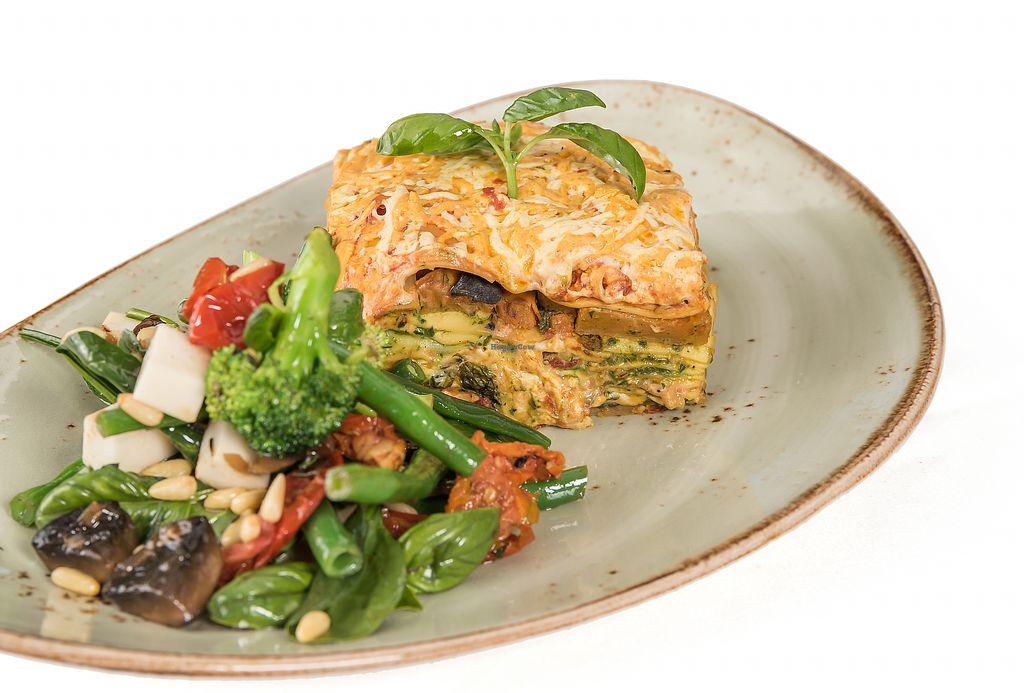 "Photo of Vege Rama - Westfield Carindale   by <a href=""/members/profile/PameSR"">PameSR</a> <br/>Vegan Lasagna + Side Salad <br/> December 19, 2017  - <a href='/contact/abuse/image/86677/337207'>Report</a>"