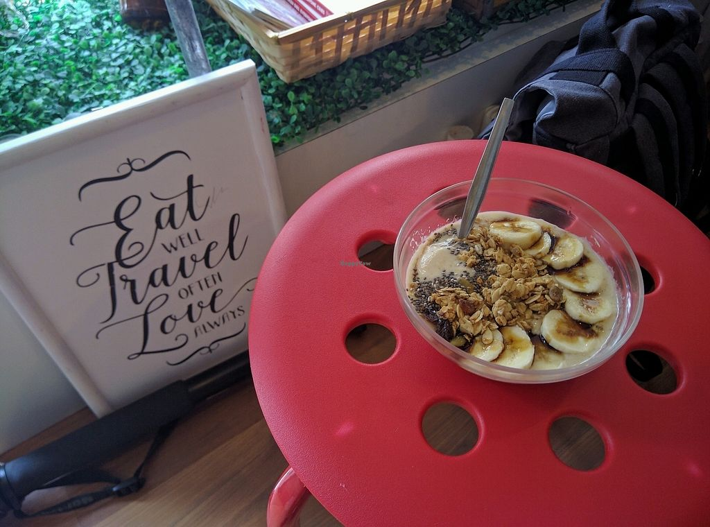 "Photo of Shia's Homemade Granola  by <a href=""/members/profile/Summer_Tan"">Summer_Tan</a> <br/>Nangka Nana Smoothie Bowl - RM14 (extra RM2 for almond milk alternative to yoghurt) Banana, Jackfruit and Almond Milk smoothie, topped with Chia Seed, Granola and Gula Melaka. Pretty good and creamy. Portion is ok <br/> February 2, 2018  - <a href='/contact/abuse/image/86692/353874'>Report</a>"