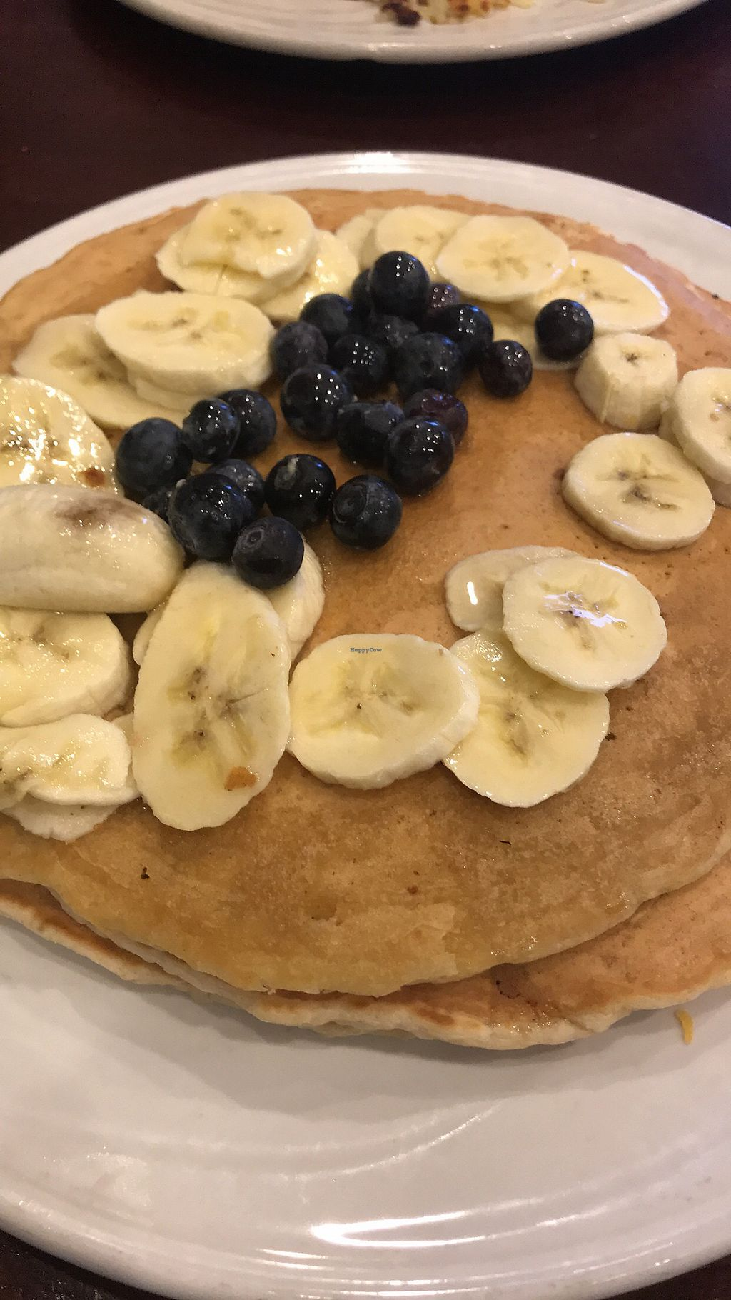"""Photo of Southern Belles Pancake House  by <a href=""""/members/profile/Brittigno"""">Brittigno</a> <br/>Vegan oatmeal pancakes <br/> March 4, 2018  - <a href='/contact/abuse/image/86703/366353'>Report</a>"""