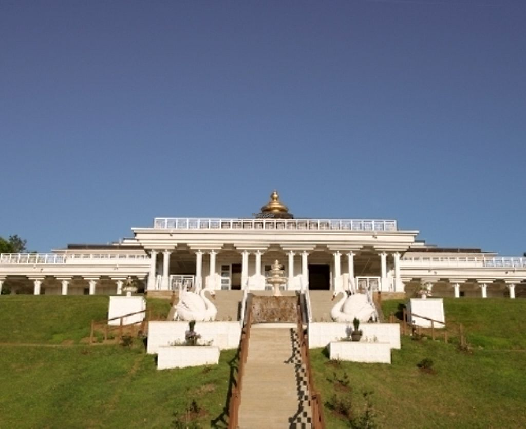 """Photo of Art of Living Retreat Center  by <a href=""""/members/profile/ArtofLiving"""">ArtofLiving</a> <br/>Here is a picture of our Main Meditation Hall, our most iconic building on property. Join us for a complimentary tour of the property after lunch to see inside this building as well as to learn more about our facility! <br/> February 24, 2017  - <a href='/contact/abuse/image/86705/229959'>Report</a>"""