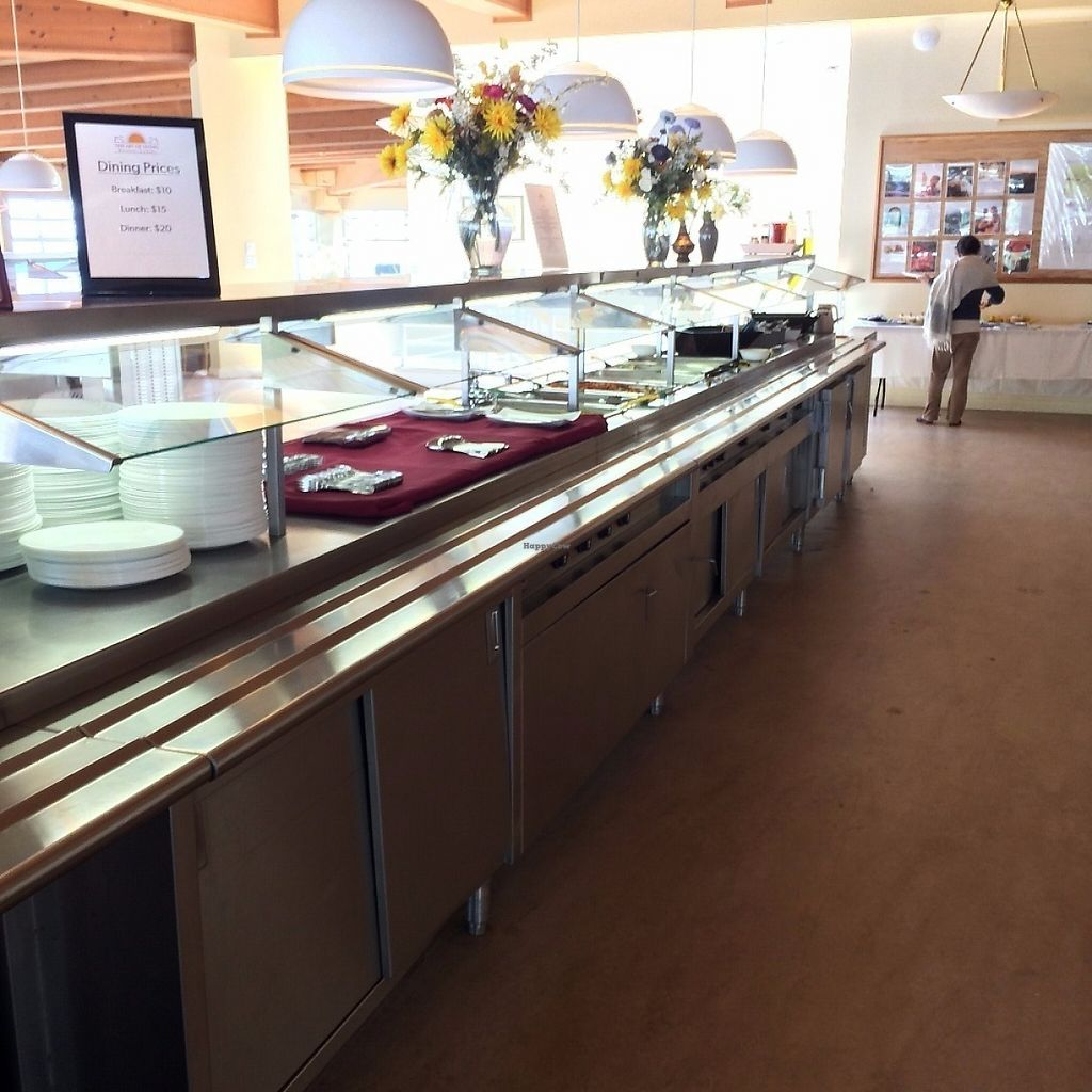 """Photo of Art of Living Retreat Center  by <a href=""""/members/profile/KatieBush"""">KatieBush</a> <br/>dining buffet <br/> May 25, 2017  - <a href='/contact/abuse/image/86705/262418'>Report</a>"""