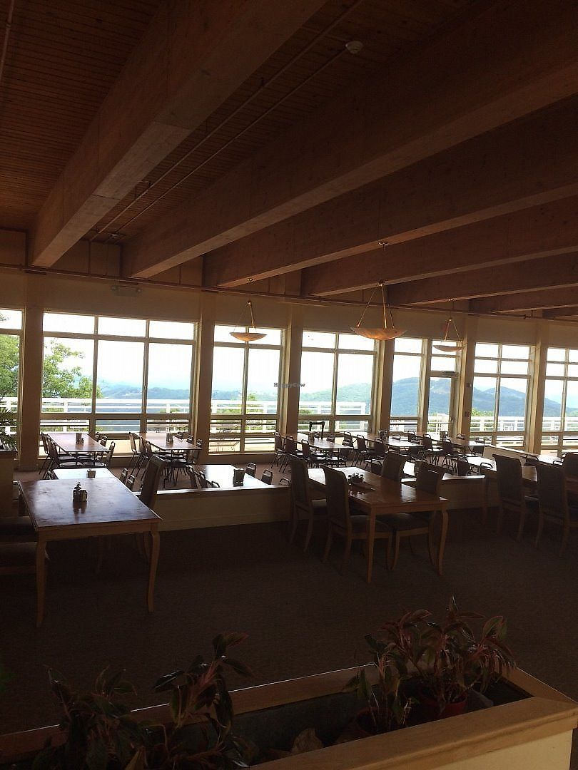 """Photo of Art of Living Retreat Center  by <a href=""""/members/profile/Veg-Predilection"""">Veg-Predilection</a> <br/>Your view for lunch or dinner in the dining hall <br/> June 20, 2017  - <a href='/contact/abuse/image/86705/271187'>Report</a>"""