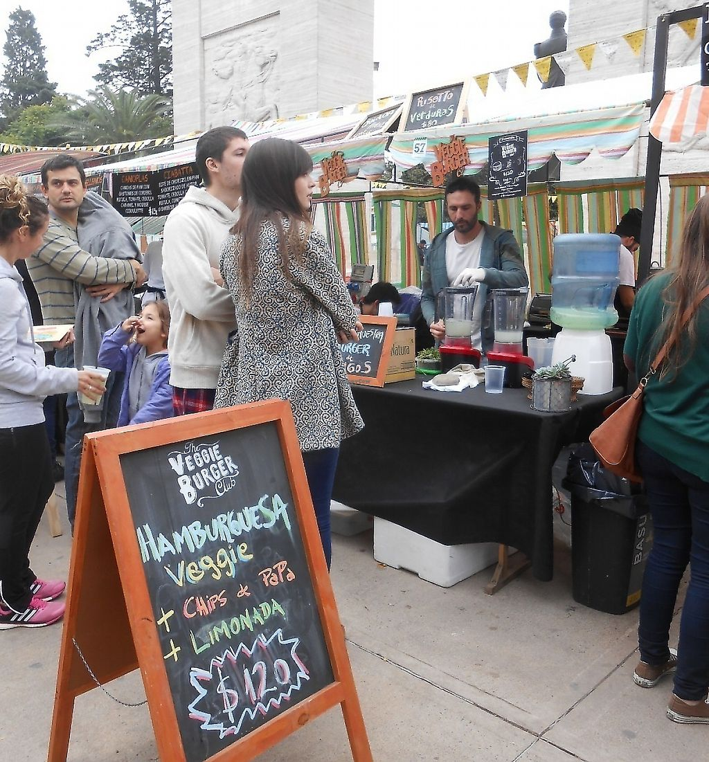 """Photo of The Veggie Burger Club Food Truck  by <a href=""""/members/profile/Den28"""">Den28</a> <br/>Organic Food Fair at Caballito <br/> April 25, 2017  - <a href='/contact/abuse/image/86708/279328'>Report</a>"""