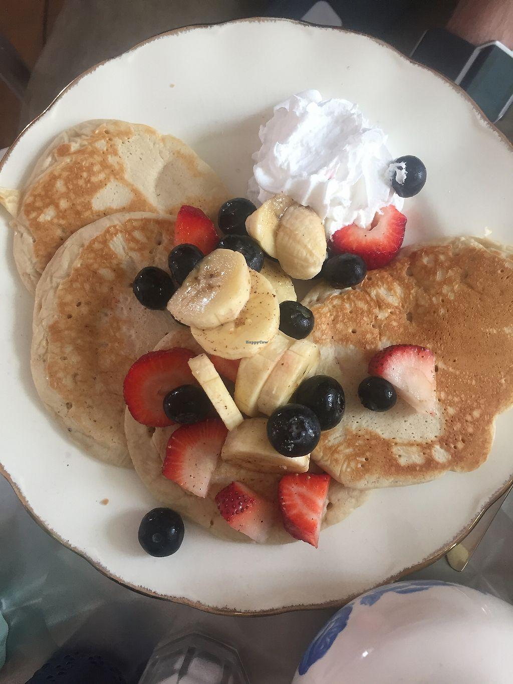 """Photo of The Churro Bar & Vegan Bakery  by <a href=""""/members/profile/amndaxxxx"""">amndaxxxx</a> <br/>Pancakes (syrup not pictured) <br/> January 14, 2018  - <a href='/contact/abuse/image/86714/346596'>Report</a>"""