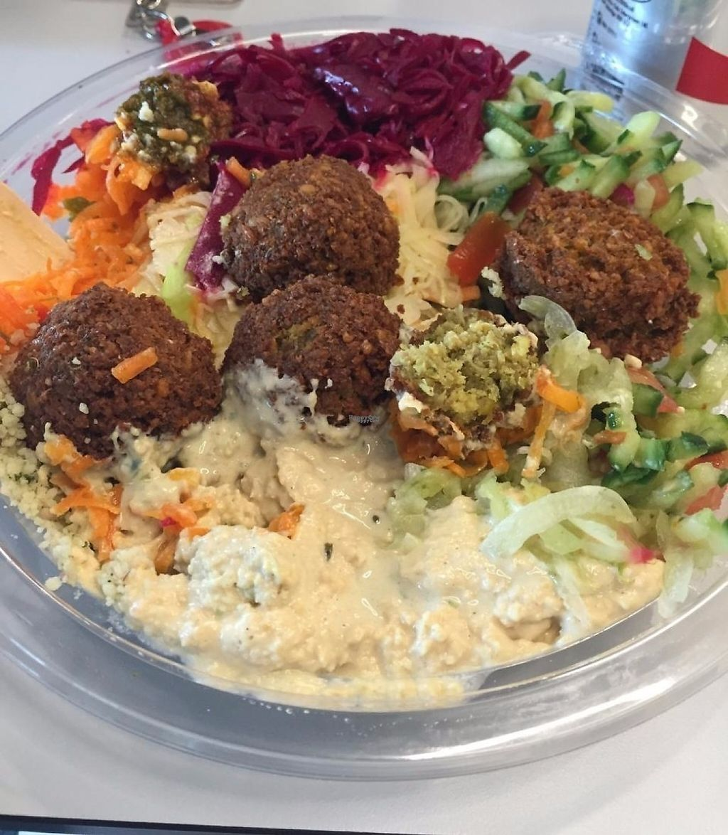 "Photo of Chickpeas Hummus & Falafel Bar  by <a href=""/members/profile/community"">community</a> <br/>Chickpeas <br/> February 5, 2017  - <a href='/contact/abuse/image/86718/223411'>Report</a>"