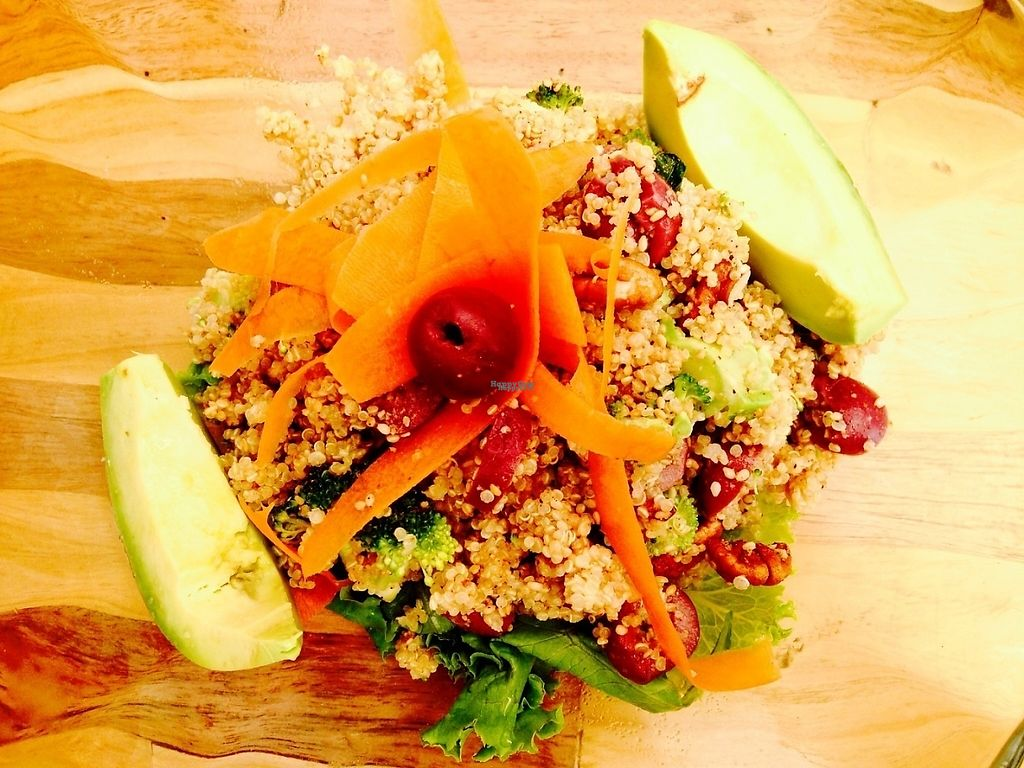 "Photo of La Cosecha  by <a href=""/members/profile/DanaKatscha"">DanaKatscha</a> <br/>Quinoa Salad <br/> February 6, 2017  - <a href='/contact/abuse/image/86722/223708'>Report</a>"