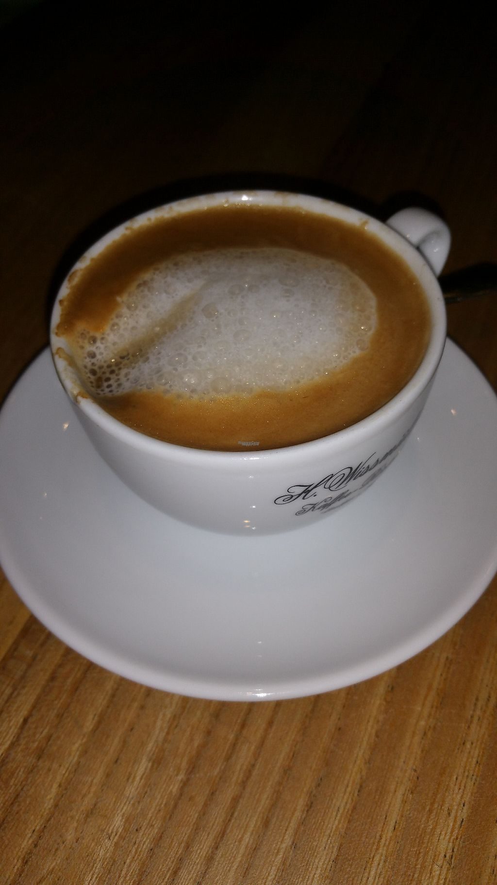 """Photo of Försters  by <a href=""""/members/profile/Mallorcatalks"""">Mallorcatalks</a> <br/>A delicious coffee with almond milk <br/> February 7, 2017  - <a href='/contact/abuse/image/86791/223842'>Report</a>"""
