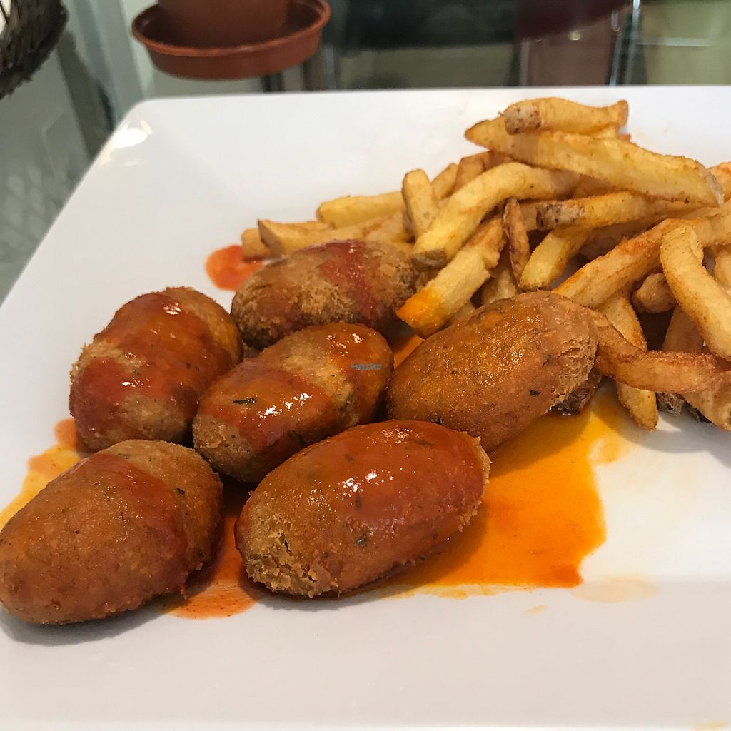 """Photo of Go Green  by <a href=""""/members/profile/Raymo"""">Raymo</a> <br/>Chickpea nuggets <br/> April 20, 2017  - <a href='/contact/abuse/image/86796/250255'>Report</a>"""