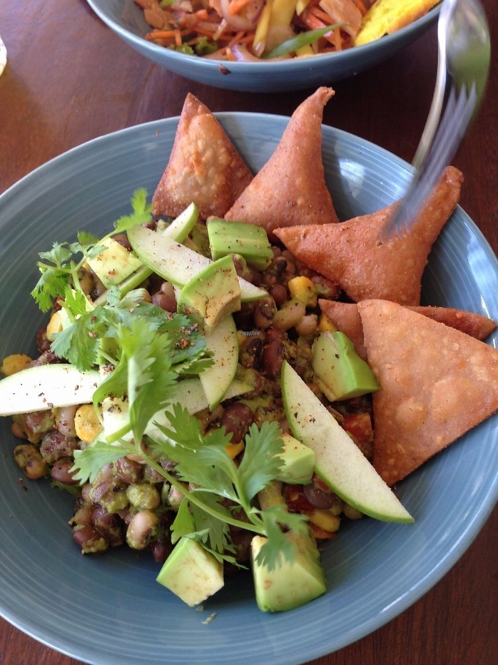 """Photo of Cafe Kumbuk Good Market  by <a href=""""/members/profile/CatDouglas"""">CatDouglas</a> <br/>Tex mex salad <br/> February 28, 2017  - <a href='/contact/abuse/image/86812/231168'>Report</a>"""