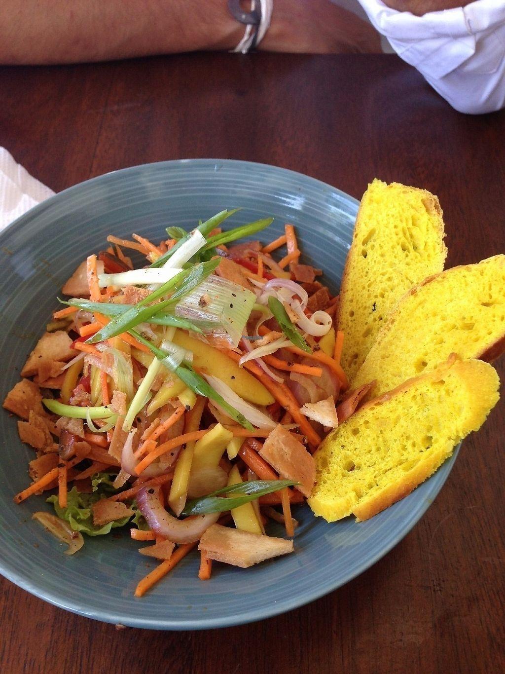 "Photo of Cafe Kumbuk Good Market  by <a href=""/members/profile/CatDouglas"">CatDouglas</a> <br/>Thai papaya salad <br/> February 28, 2017  - <a href='/contact/abuse/image/86812/231169'>Report</a>"