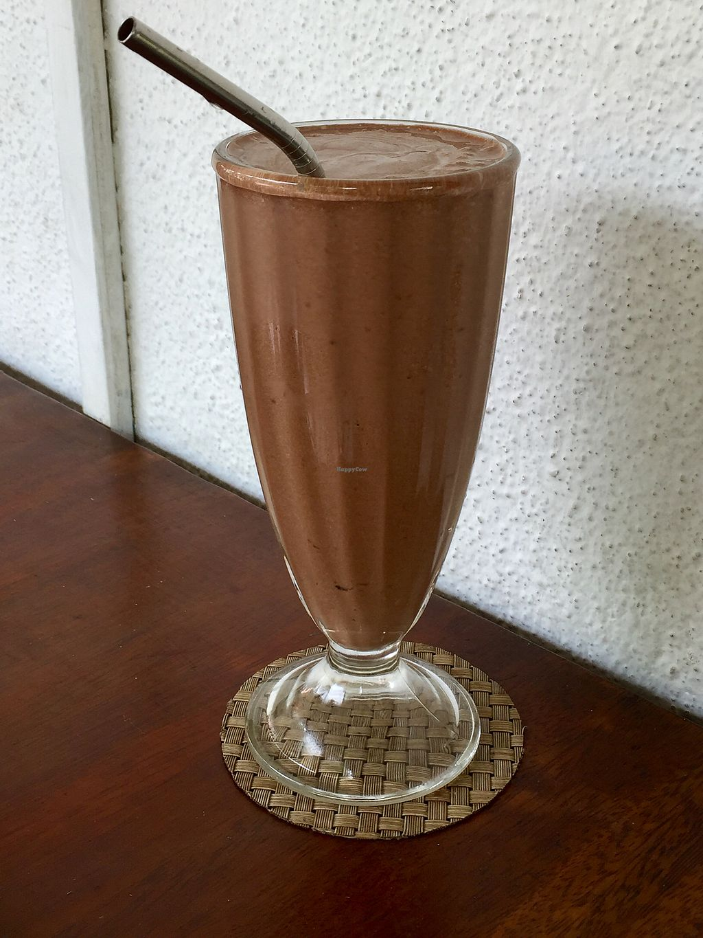 """Photo of Cafe Kumbuk Good Market  by <a href=""""/members/profile/peterstuckings"""">peterstuckings</a> <br/>Cacao Banana smoothie - vegan  <br/> March 14, 2018  - <a href='/contact/abuse/image/86812/370422'>Report</a>"""