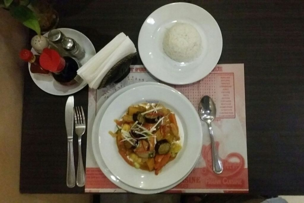"""Photo of Wild Herbs Restaurant  by <a href=""""/members/profile/Mike%20Munsie"""">Mike Munsie</a> <br/>vegan pad Thai <br/> February 11, 2017  - <a href='/contact/abuse/image/86824/225104'>Report</a>"""