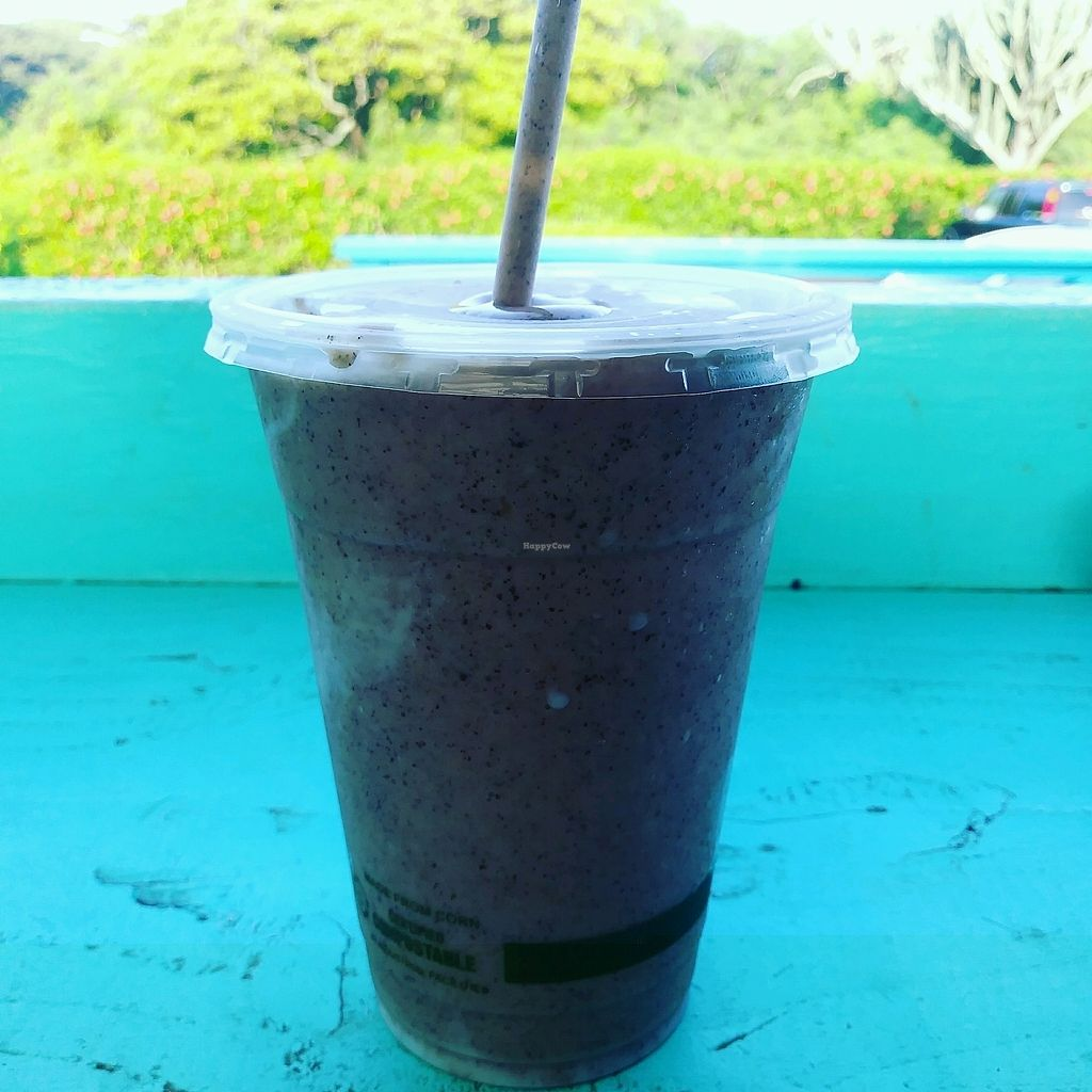 """Photo of Little Fish Coffee  by <a href=""""/members/profile/JulieWhiteDickerson"""">JulieWhiteDickerson</a> <br/>Tree Hugger smoothie <br/> November 4, 2017  - <a href='/contact/abuse/image/86841/321649'>Report</a>"""