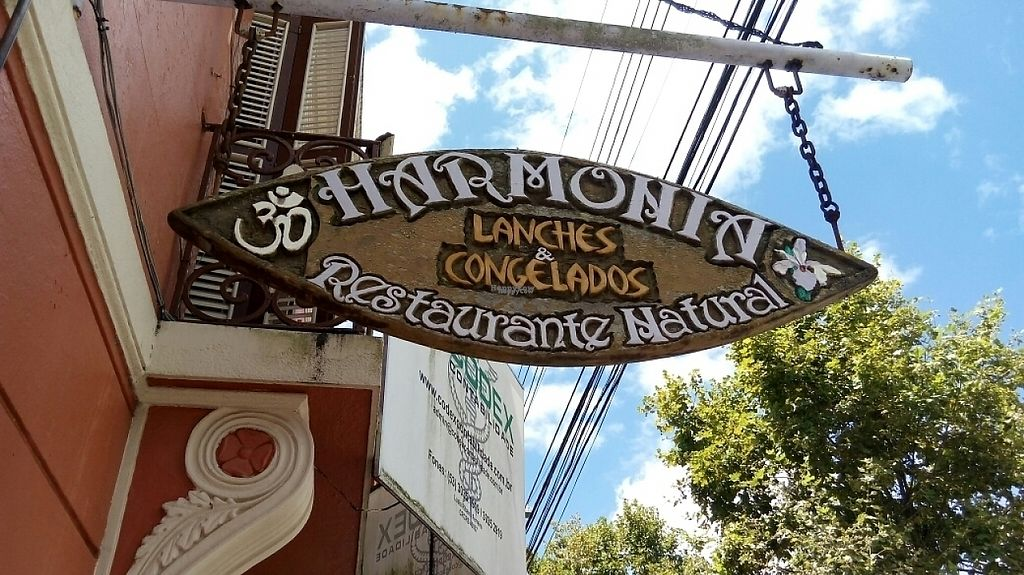 """Photo of Harmonia Restaurante Natural  by <a href=""""/members/profile/bfeitosa"""">bfeitosa</a> <br/>entrance <br/> February 9, 2017  - <a href='/contact/abuse/image/86846/224583'>Report</a>"""