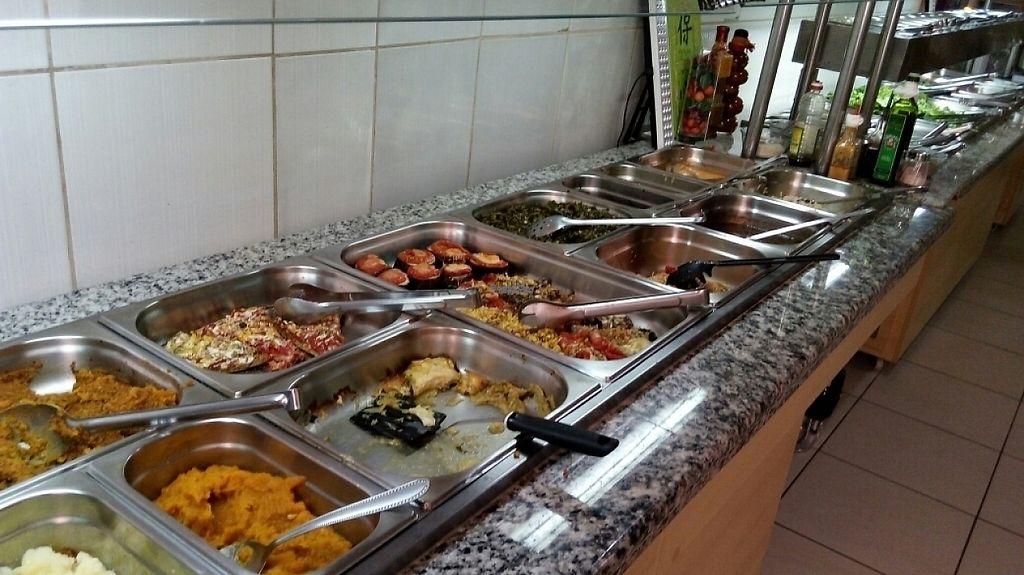 """Photo of Harmonia Restaurante Natural  by <a href=""""/members/profile/bfeitosa"""">bfeitosa</a> <br/>buffet line <br/> February 9, 2017  - <a href='/contact/abuse/image/86846/224585'>Report</a>"""