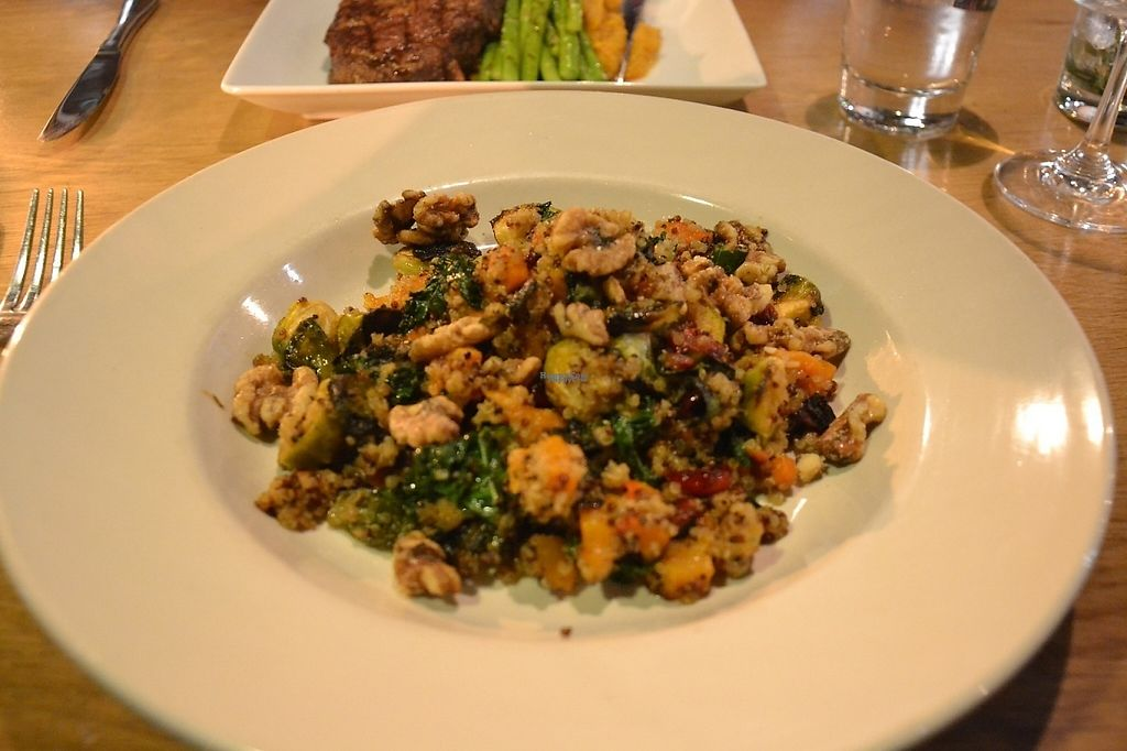"""Photo of The Westside Local  by <a href=""""/members/profile/ALR14"""">ALR14</a> <br/>Seasonal quinoa (only had to omit feta to make it vegan) <br/> February 8, 2017  - <a href='/contact/abuse/image/86857/224435'>Report</a>"""