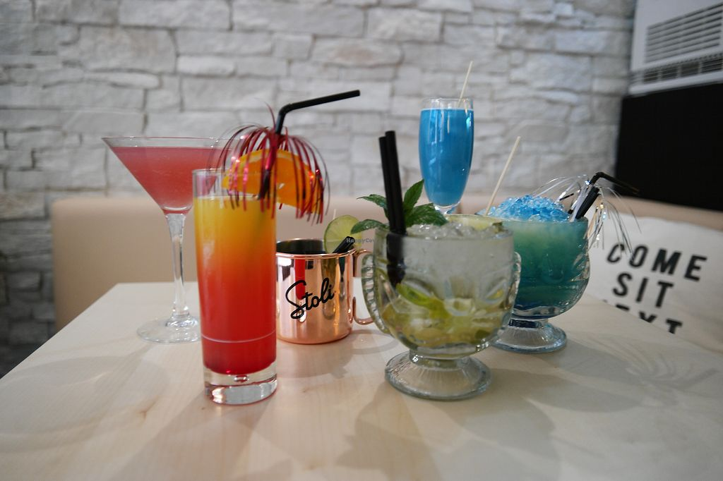 """Photo of Reflection Bar & Bistro  by <a href=""""/members/profile/swxx"""">swxx</a> <br/>All cocktails are vegan or can be made vegan! <br/> July 6, 2017  - <a href='/contact/abuse/image/86866/277210'>Report</a>"""