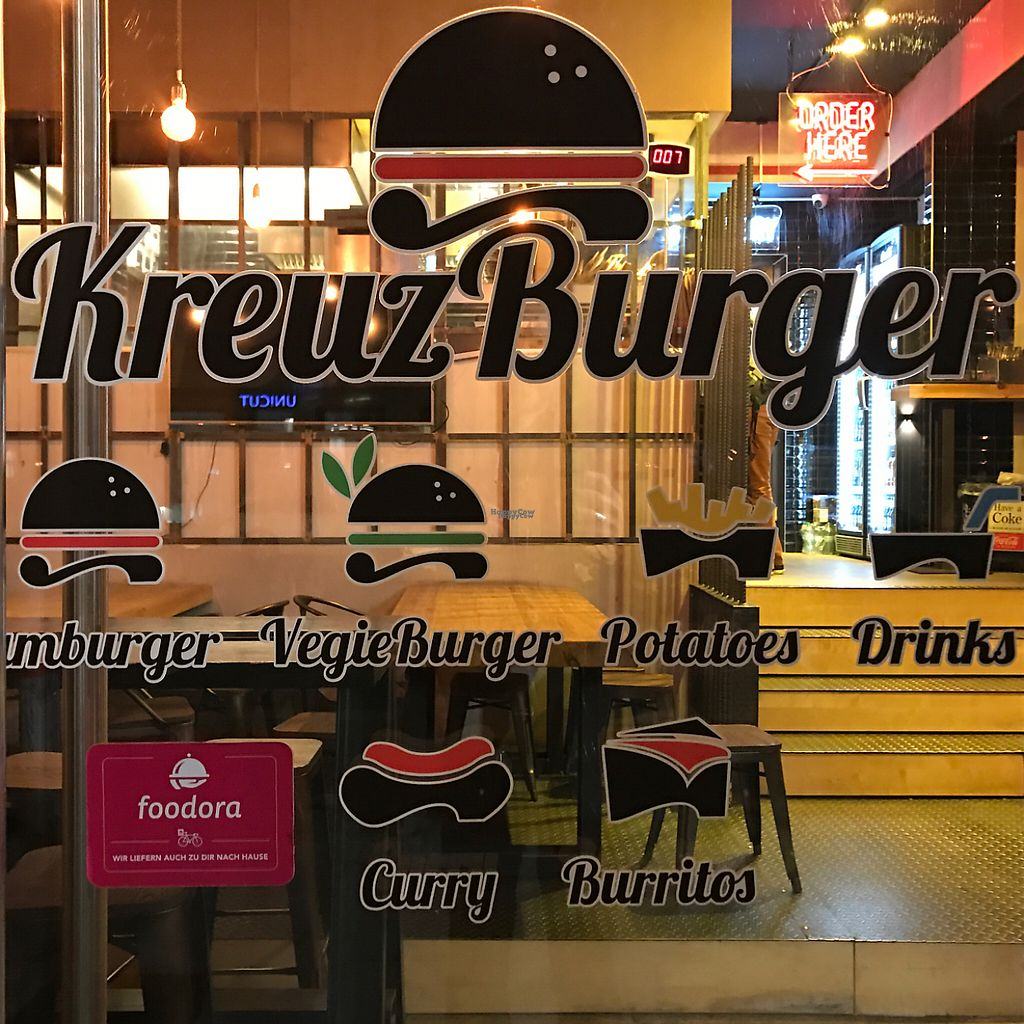 "Photo of KreuzBurger - Rosenthaler  by <a href=""/members/profile/marky_mark"">marky_mark</a> <br/>store front <br/> March 28, 2017  - <a href='/contact/abuse/image/86886/242181'>Report</a>"