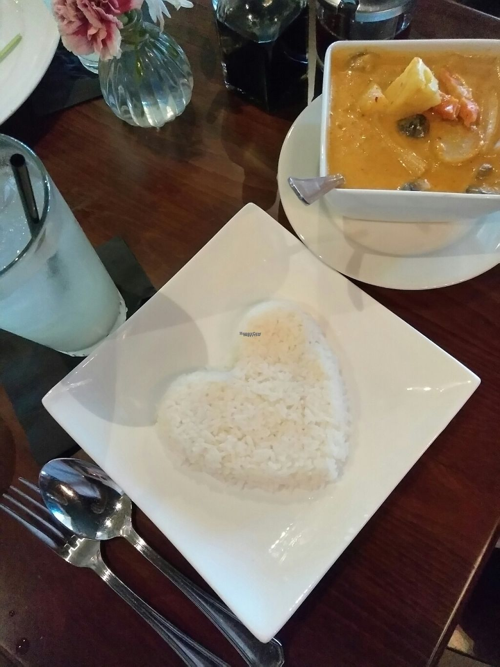 """Photo of Thailicious  by <a href=""""/members/profile/Tonydetra"""">Tonydetra</a> <br/>Gaeng Kua Pineapple ,vegetable curry and rice <br/> March 19, 2017  - <a href='/contact/abuse/image/86904/238425'>Report</a>"""
