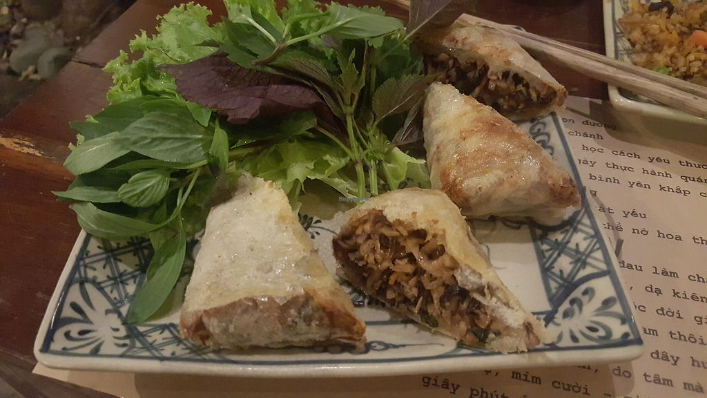 """Photo of Here & Now  by <a href=""""/members/profile/Refinnej"""">Refinnej</a> <br/>nem nam (fried bean curd rolls stuffed with mushrooms and carrots) <br/> September 4, 2017  - <a href='/contact/abuse/image/86911/300847'>Report</a>"""