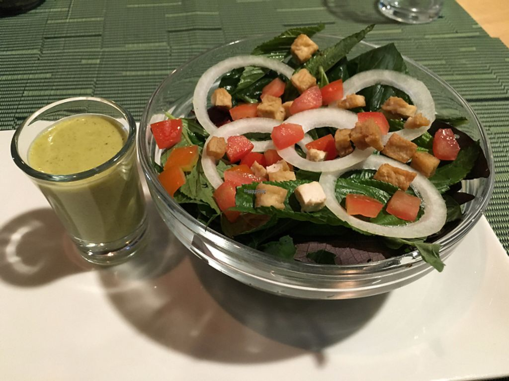 """Photo of Lun-Haw Vegan Cafe  by <a href=""""/members/profile/Veg4Jay"""">Veg4Jay</a> <br/>Local Greens Salad <br/> February 19, 2017  - <a href='/contact/abuse/image/86953/228168'>Report</a>"""