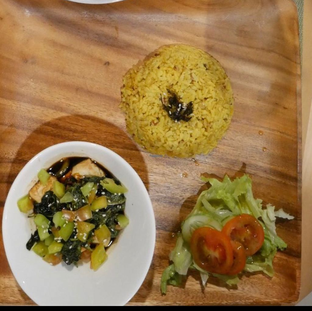 """Photo of Lun-Haw Vegan Cafe  by <a href=""""/members/profile/Melissaj1990"""">Melissaj1990</a> <br/>air fried tofu <br/> March 23, 2017  - <a href='/contact/abuse/image/86953/239882'>Report</a>"""