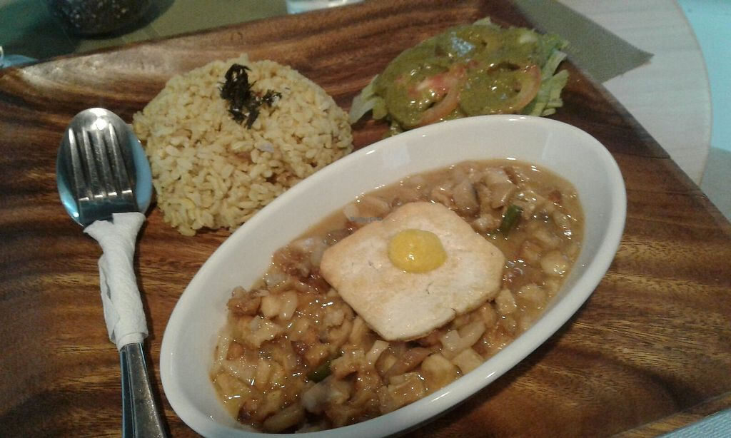 """Photo of Lun-Haw Vegan Cafe  by <a href=""""/members/profile/JuanitaHeadley"""">JuanitaHeadley</a> <br/>Tofu sisig!! <br/> June 12, 2017  - <a href='/contact/abuse/image/86953/268287'>Report</a>"""