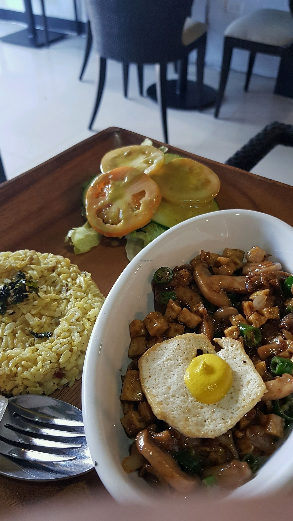 """Photo of Lun-Haw Vegan Cafe  by <a href=""""/members/profile/JezNeri"""">JezNeri</a> <br/>sisig ? <br/> December 4, 2017  - <a href='/contact/abuse/image/86953/332262'>Report</a>"""