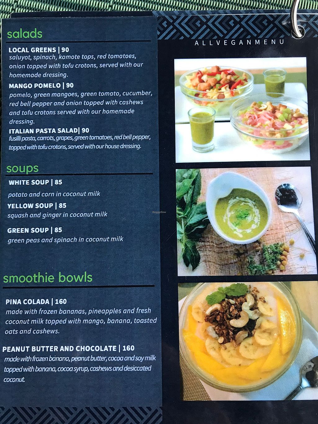 """Photo of Lun-Haw Vegan Cafe  by <a href=""""/members/profile/CharlieDrew"""">CharlieDrew</a> <br/>Menu Page 2 <br/> February 18, 2018  - <a href='/contact/abuse/image/86953/360756'>Report</a>"""