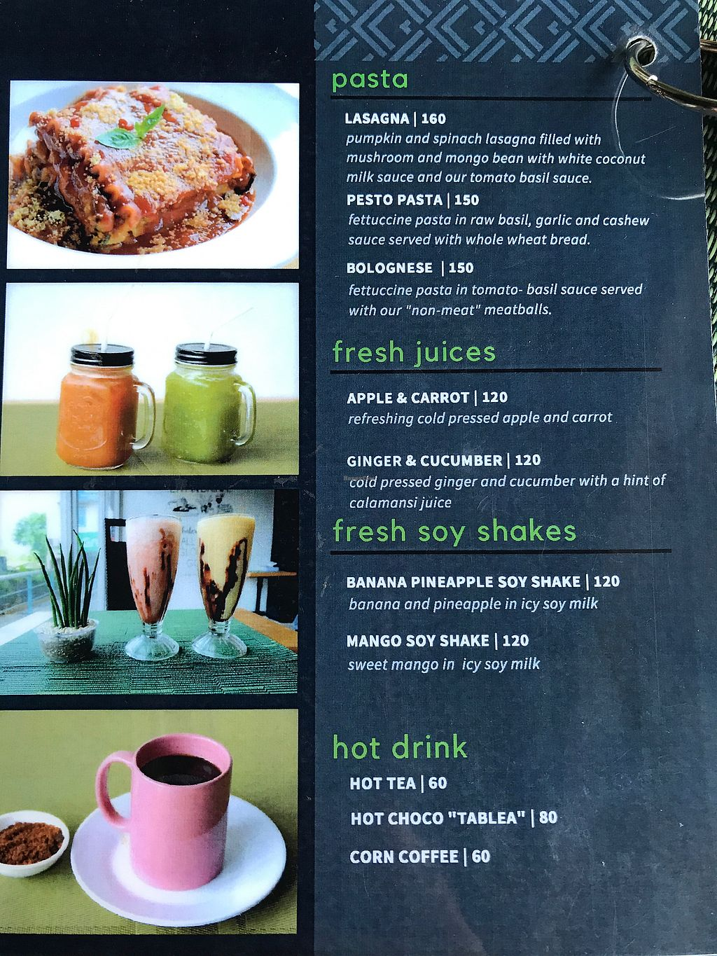 """Photo of Lun-Haw Vegan Cafe  by <a href=""""/members/profile/CharlieDrew"""">CharlieDrew</a> <br/>Menu page 3 <br/> February 18, 2018  - <a href='/contact/abuse/image/86953/360757'>Report</a>"""