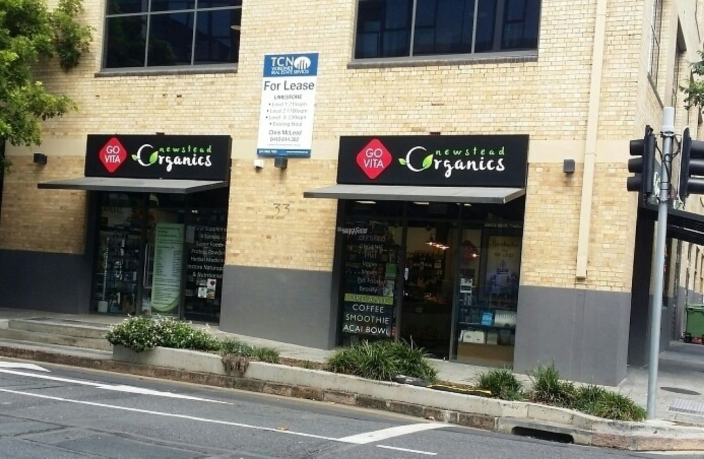 """Photo of Newstead Organics Store & Cafe  by <a href=""""/members/profile/Mike%20Munsie"""">Mike Munsie</a> <br/>street front <br/> April 21, 2017  - <a href='/contact/abuse/image/86958/250403'>Report</a>"""