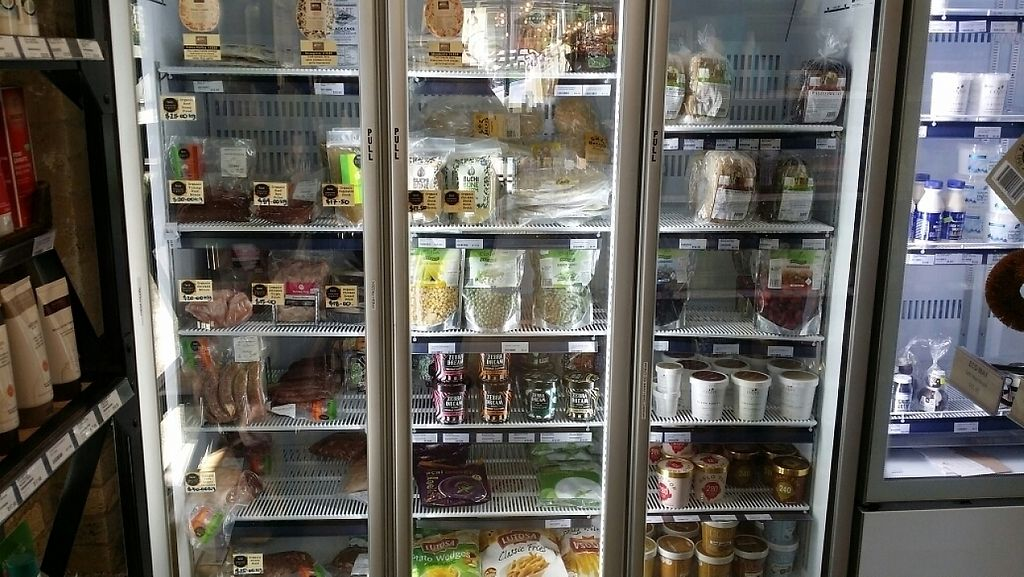 """Photo of Newstead Organics Store & Cafe  by <a href=""""/members/profile/Mike%20Munsie"""">Mike Munsie</a> <br/>cold goods <br/> April 21, 2017  - <a href='/contact/abuse/image/86958/250405'>Report</a>"""