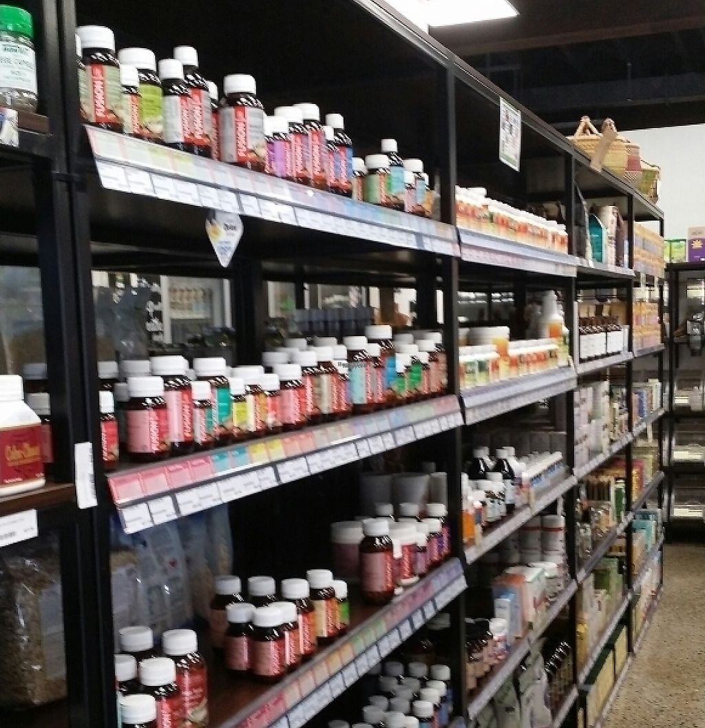 """Photo of Newstead Organics Store & Cafe  by <a href=""""/members/profile/Mike%20Munsie"""">Mike Munsie</a> <br/>vitamins <br/> April 21, 2017  - <a href='/contact/abuse/image/86958/252322'>Report</a>"""