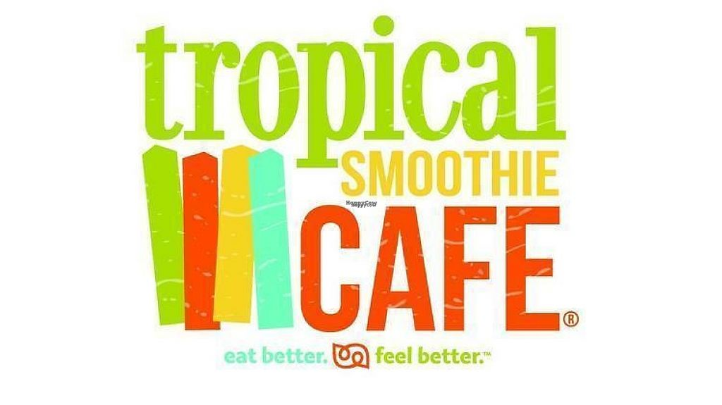 "Photo of Tropical Smoothie Cafe  by <a href=""/members/profile/BriggitteJ"">BriggitteJ</a> <br/>Logo <br/> February 16, 2017  - <a href='/contact/abuse/image/86973/227014'>Report</a>"