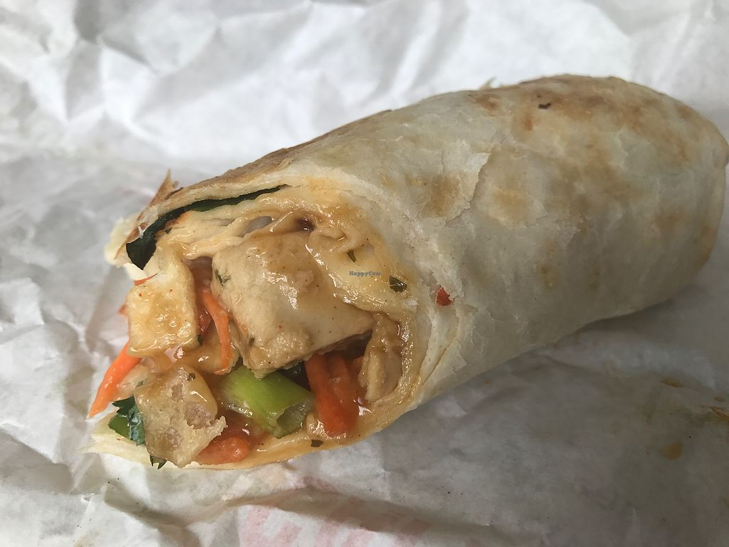 "Photo of Tropical Smoothie Cafe  by <a href=""/members/profile/Tata"">Tata</a> <br/>Thai chicken wrap with Beyond Chicken <br/> June 20, 2017  - <a href='/contact/abuse/image/86973/271519'>Report</a>"