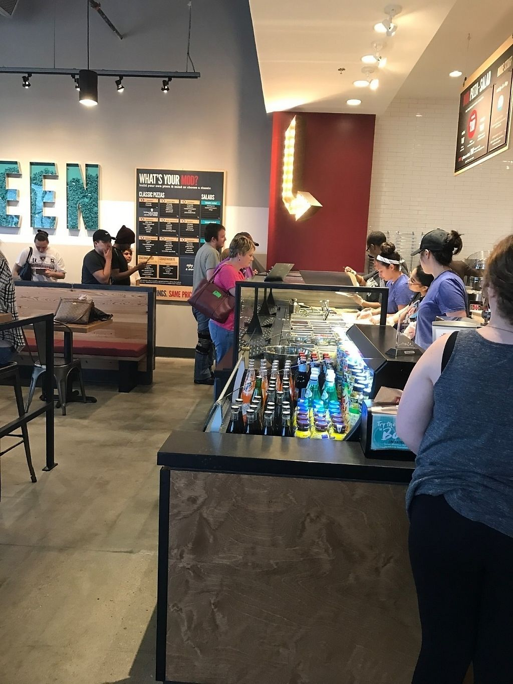"""Photo of Mod Pizza  by <a href=""""/members/profile/LeaMonika"""">LeaMonika</a> <br/>Build your own pizza <br/> February 12, 2017  - <a href='/contact/abuse/image/86984/226083'>Report</a>"""