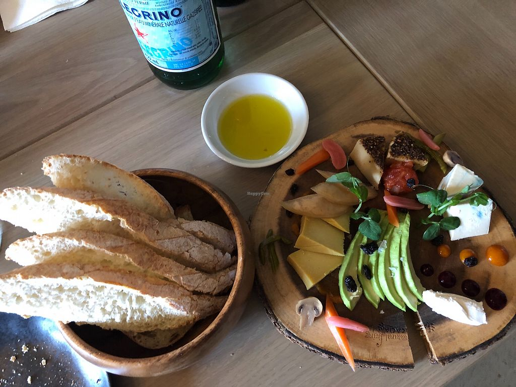 """Photo of Glowfood  by <a href=""""/members/profile/AWild"""">AWild</a> <br/>Assortment of Glow Food Cheese and Vegan Board at Grapes (Banff Springs Hotel) <br/> April 15, 2018  - <a href='/contact/abuse/image/86986/386350'>Report</a>"""