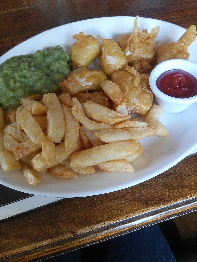 "Photo of Red Lion at Pickmere  by <a href=""/members/profile/RJS"">RJS</a> <br/>Deep fried Tofu ""Fish""  <br/> July 19, 2017  - <a href='/contact/abuse/image/87029/282141'>Report</a>"
