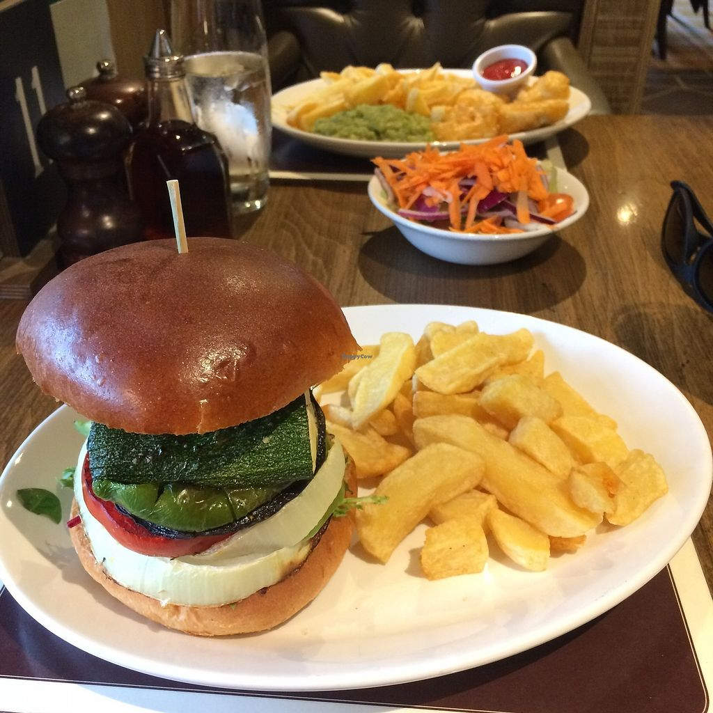 "Photo of Red Lion at Pickmere  by <a href=""/members/profile/Hoggy"">Hoggy</a> <br/>Vegetable Stack Burger <br/> October 19, 2017  - <a href='/contact/abuse/image/87029/316662'>Report</a>"