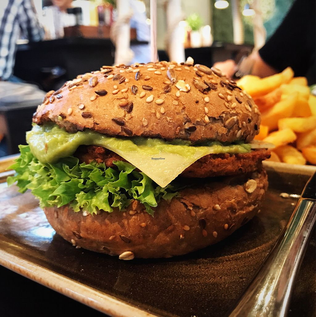 """Photo of Peter Pane - Turnhalle  by <a href=""""/members/profile/Zuikauskas"""">Zuikauskas</a> <br/>Vegetarian burger <br/> July 23, 2017  - <a href='/contact/abuse/image/87032/283921'>Report</a>"""