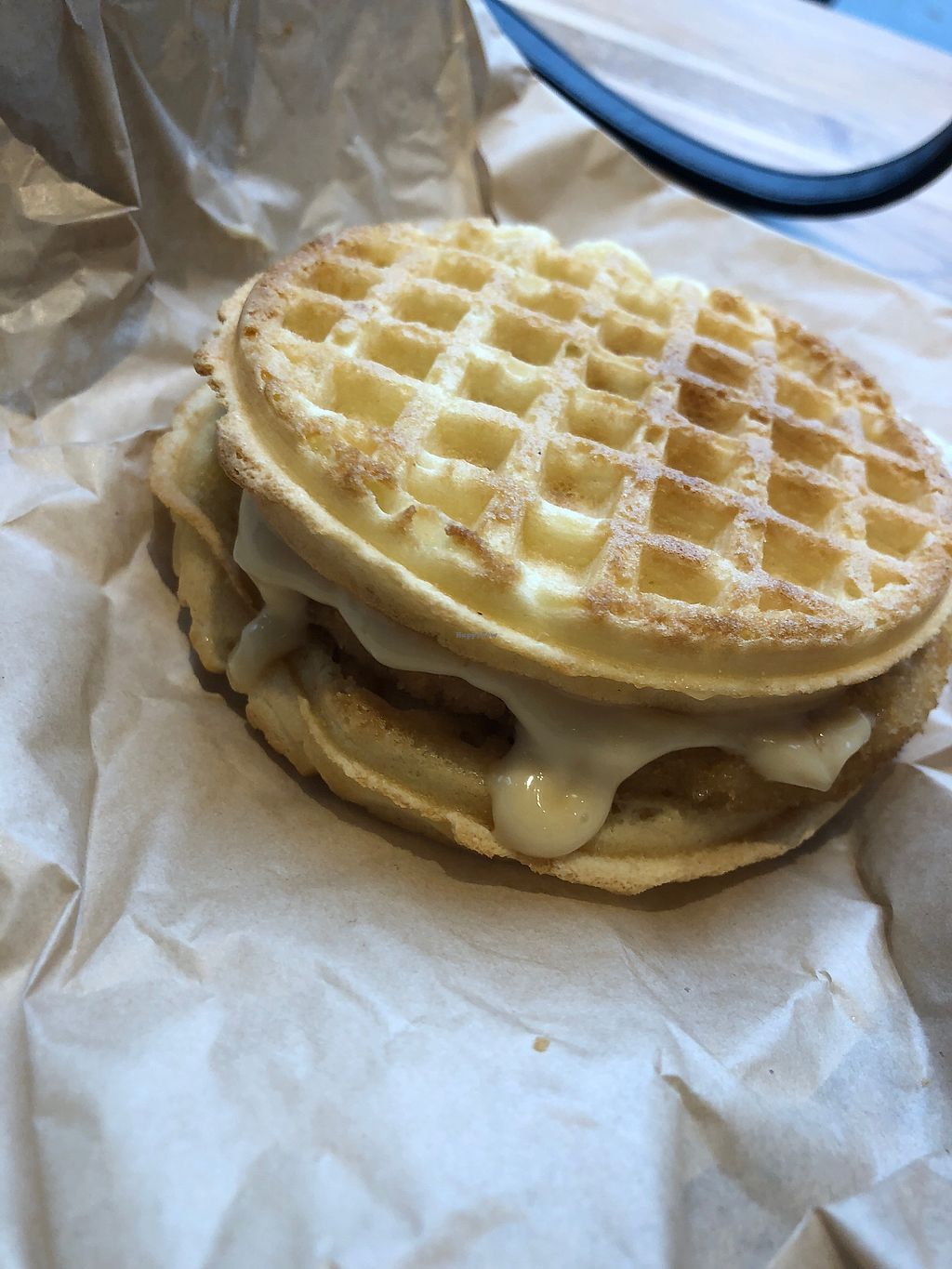 """Photo of Vegan Picnic  by <a href=""""/members/profile/alexis17"""">alexis17</a> <br/>Chicken & waffles <br/> March 21, 2018  - <a href='/contact/abuse/image/87046/373917'>Report</a>"""