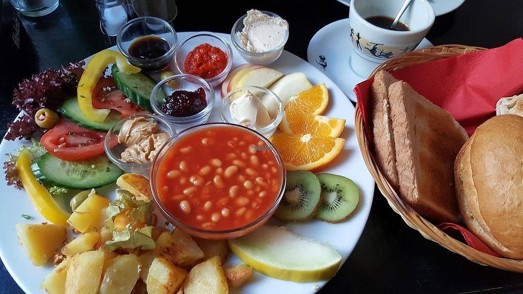 """Photo of Cafe Ole  by <a href=""""/members/profile/Architexturburo"""">Architexturburo</a> <br/>Vegan Breakfast <br/> February 11, 2017  - <a href='/contact/abuse/image/87048/225413'>Report</a>"""