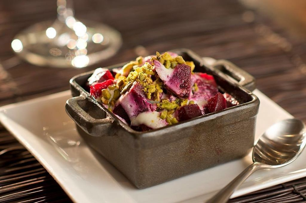 """Photo of Wynn Hotel - La Cave  by <a href=""""/members/profile/community"""">community</a> <br/>Warm salt-roasted beets <br/> February 12, 2017  - <a href='/contact/abuse/image/87057/225540'>Report</a>"""