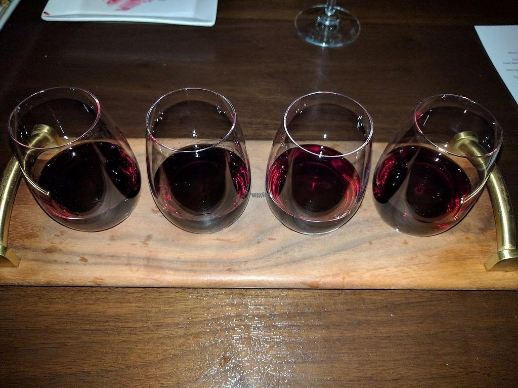 """Photo of Wynn Hotel - La Cave  by <a href=""""/members/profile/Sonja%20and%20Dirk"""">Sonja and Dirk</a> <br/>wine flight <br/> February 12, 2017  - <a href='/contact/abuse/image/87057/225981'>Report</a>"""