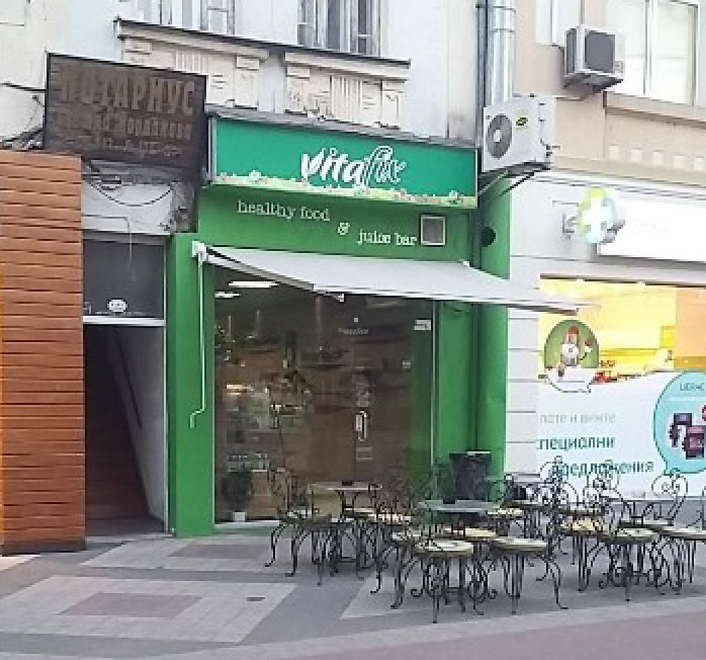 """Photo of Vitaflix  by <a href=""""/members/profile/DobromirPashkulev"""">DobromirPashkulev</a> <br/>Vitafix / healthy food & juice bar <br/> February 22, 2017  - <a href='/contact/abuse/image/87060/229169'>Report</a>"""