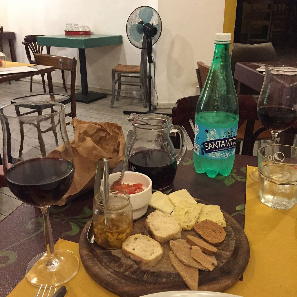 """Photo of Sciue Sciue  by <a href=""""/members/profile/BlueFields"""">BlueFields</a> <br/>Vegan meat and cheese plate  <br/> May 5, 2018  - <a href='/contact/abuse/image/87067/395646'>Report</a>"""
